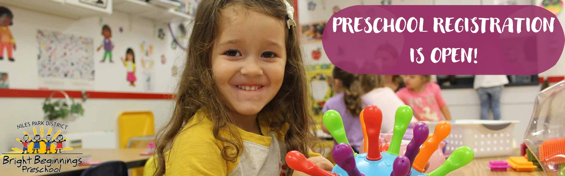 Bright Beginnings Preschool Registration