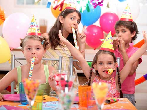 birthday party packages at NPD